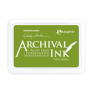 Archival Ink LEAF GREEN