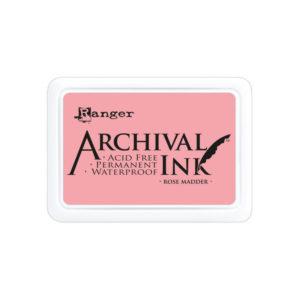 Archival Ink Rose Madder
