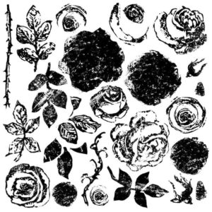 tampon-painterly-roses-iron-orchid-designs